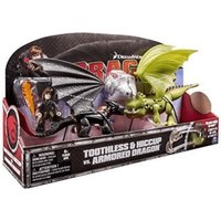 Spin Master DreamWorks Dragons - Toothless vs Armored