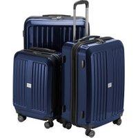 Hauptstadtkoffer X-Berg Spinner Set 55/65/75 cm glossy dark blue