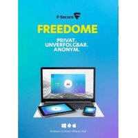 F-Secure Freedome VPN (5 Devices) (1 Year) (ESD)