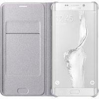 Samsung Flip Wallet silver (Samsung Galaxy S6 Edge+)