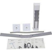 Ergotron 97-934-062 WorkFit Dual-Monitor-Kit white