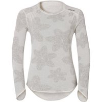 Odlo Vallée Blanche Warm Shirt l/s Women snow white