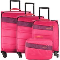 Travelite Kite Spinner-Set 54/64/75 cm & Boardcase pink