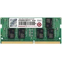 Transcend 16GB SO-DIMM DDR4-2133 CL15 (TS2GSH64V1B)