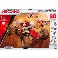 Meccano Desert Adventure 20 Model Set (15206)