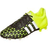 Adidas Ace15.1 FG/AG J core black/white/solar yellow