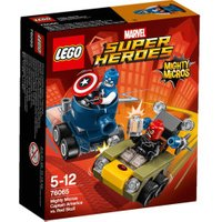 LEGO Marvel Super Heroes - Mighty Micros: Captain America vs. Red Skull (76065)