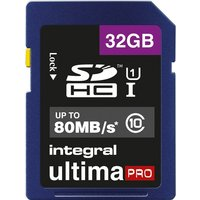 Integral UltimaPro SDHC 80MB Class 10 UHS-I U1 - 32GB