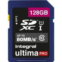 Integral UltimaPro SDXC 80MB Class 10 UHS-I U1 - 128GB