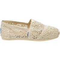 Toms Shoes Classic Crochet Women's natural