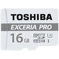 Toshiba Exceria Pro M401 microSD SDHC 32 GB UHS-I U3 Memory Card, Class 10 (95MBs Read, 80MBs Write) includes SD Adapter