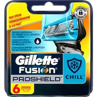 Gillette Fusion ProShield Chill System Blade (6 pcs.)