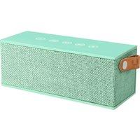 Fresh N Rebel Rockbox Brick Peppermint Fabric Edition Bluetooth Speaker