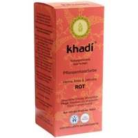 Khadi Naturprodukte Henna amla & jatropha red (100g)