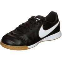 Nike Tiempo Legend VI IC Jr black/white/metallic gold