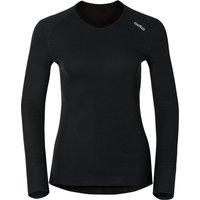 Odlo Shirt l/s V-Neck Warm Women (190881) black