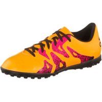 Adidas X15.4 TF J solar gold/core black/shock pink
