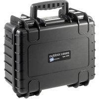 B&W Outdoor Case Typ 3000 incl. DJI Osmo X3 Inlay Black