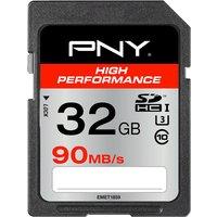 PNY SDHC High Performance Class 10 UHS-I U3 32GB (SD32GHIGPER90-EF)
