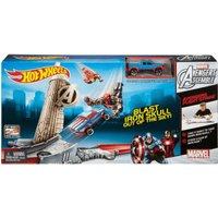 Hot Wheels Marvel Avengers Flight Strike Track Set (CCW94)
