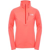 The North Face Women's Infiesto 1/4 Zip Tropical Coral
