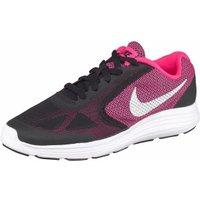 Nike Revolution 3 GS black/hyper pink/white/metallic silver