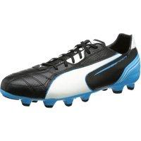 Puma Momentta MG black/white/fluo blue