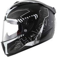 SHARK Race-R Pro Cintas black/white