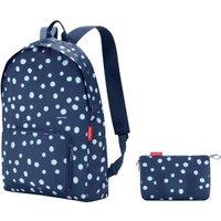 Reisenthel Mini Maxi Backpack spots navy
