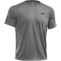 Under Armour Men's Short Sleeve Shirt UA Tech true grey heather