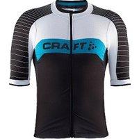 Craft Gran Fondo Jersey SS black/white/blue