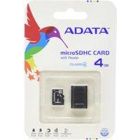 Adata microSDHC 4GB Class 4 ( AUSDH4GCL4-RM3)