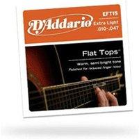 D'Addario EFT15 Flat Tops String Set