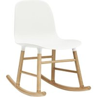 Normann Copenhagen Form Rocking Chair white/oak
