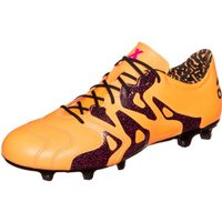 Adidas X15.2 FG/AG Leather solar gold/core black/shock pink