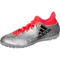 Adidas X 16.3 TF Men silver metallic/core black/solar red