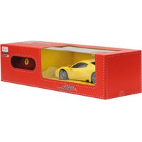 Jamara Ferrari 458 Speciale A 1:24 gelb 27MHz (405032)