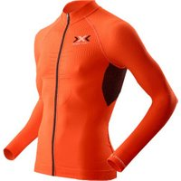 X-Bionic X-Bionic The Trick Biking Shirt Long Sleeves Full Zip Men orange sunshine/black
