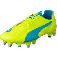 Puma evoSPEED 1.4 Mixed SG safety yellow/atomic blue/white