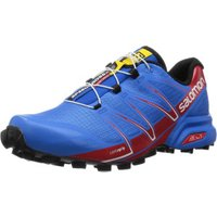 Salomon Speedcross Pro bright blue/radiant red/black
