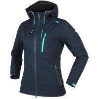CMP Woman Fix Hood Jacket (3Z58466) Black Blue