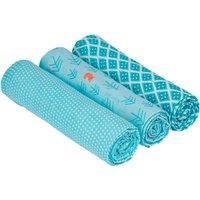 Lassig Swaddle & Burp Blanket L