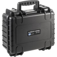 B&W Outdoor Case Type 3000 incl. GoPro 4 Inlay Black
