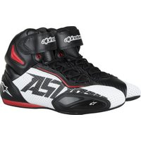 Alpinestars Faster 2 Black/White/Red Perforated