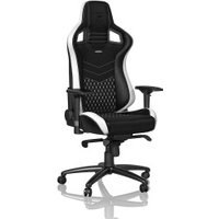 Noblechairs Epic black white red (Leather)