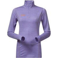 Bergans 8989 Soleie Lady Half Zip soft lavender / pumpkin