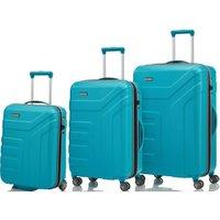 Travelite Vector 2.0 Trolley-Set 55/70/77 cm turquoise