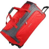 Travelite Garda Wheeled Travel Bag 72 cm red/grey
