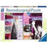Ravensburger Style Collage New York City
