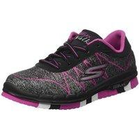 Skechers Go Flex Walk Ability black/hot pink